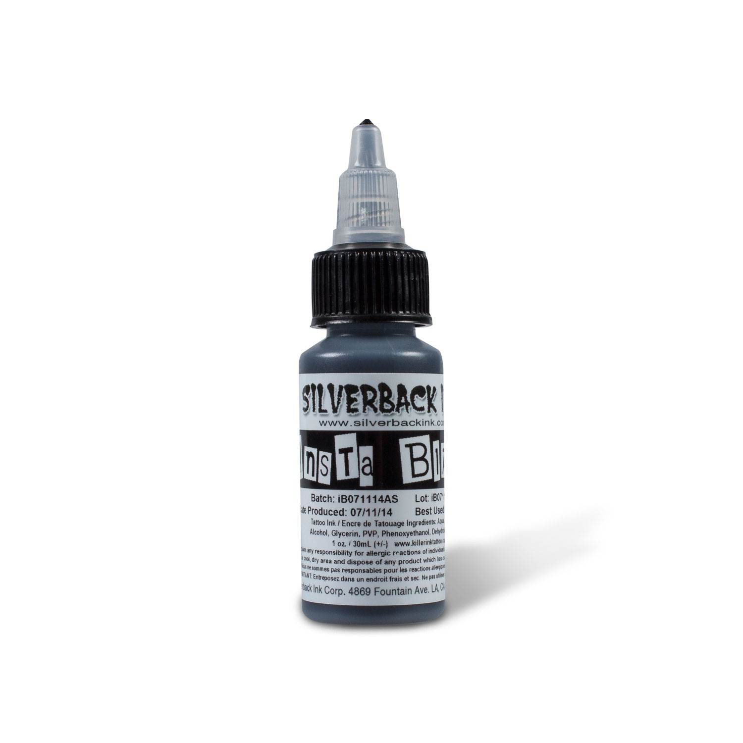InstaBlack - 1oz Bottle